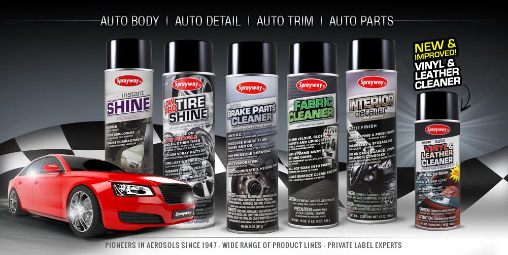 Sprayway Automotive Line
