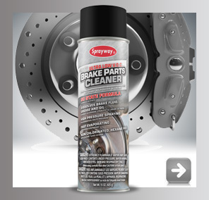 Sprayway Ultra Low VOC Brake Parts Cleaner