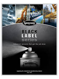 Sprayway Black Label Series