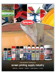 Sprayway Screenprinting flier