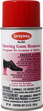 Chewing Gum Remover Sprayway Inc Pioneers In Aerosols