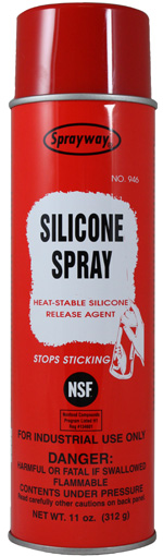 silicone spray release agent sprayway inc pioneers in aerosols since 1947. Black Bedroom Furniture Sets. Home Design Ideas