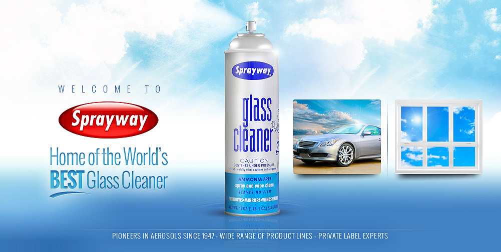 Sprayway Worlds Best Glass Cleaner